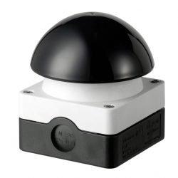 20074 Drukknopschakelaar zwarte knop